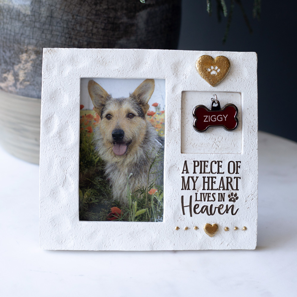 A Piece Of My Heart Lives In Heaven Picture Frame