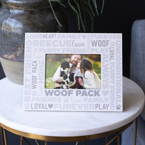 Woof Pack Picture Frame