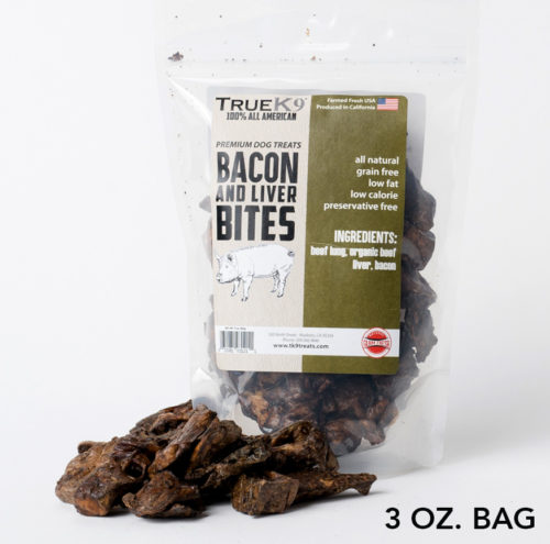 Promo: TrueK9 Bacon And Beef Liver Bites (3 oz)