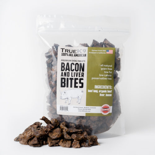TrueK9 Bacon And Beef Liver Bites (16 oz)