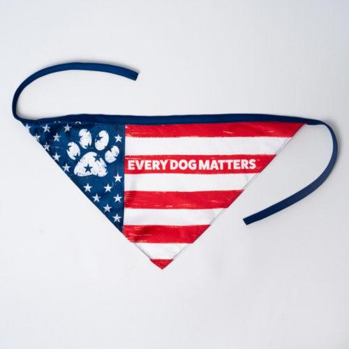 Every Dog Matters Patriotic Bandana