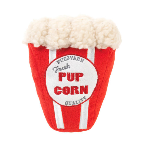 Pup Corn Movie Night Plush Toy