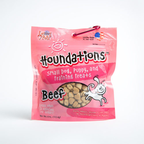 Houndations Beef Training Treats (4oz)