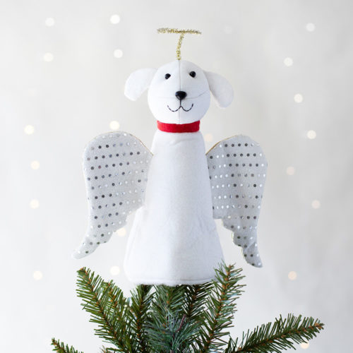 A 'Christmas Miracle' Artisan Tree Topper