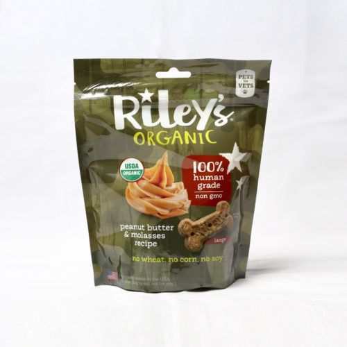 Project Paws® Pets & Vets Organic Peanut Butter & Molasses Treats by Riley's (5 oz)