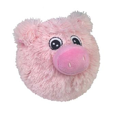 Roly Poly Piggy Plush Ball Toy