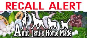 Recall Fda Warning For Aunt Jeni S Frozen Dog Food Sky