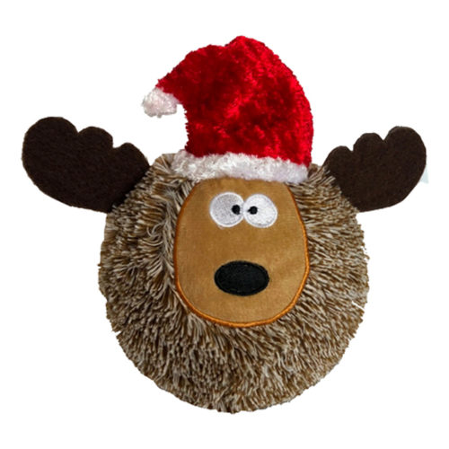 Santa's Favorite Reindeer Plush Ball Toy