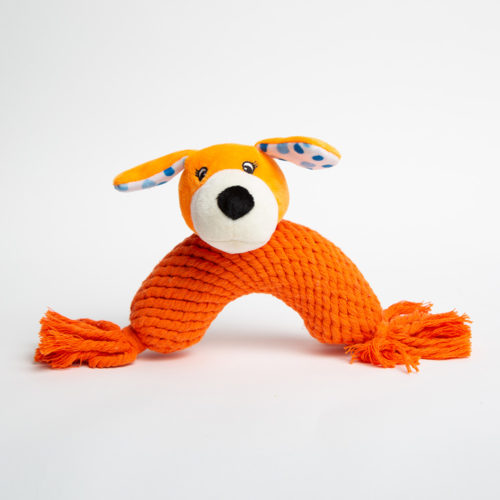 Boomerang Dog Rope Toy