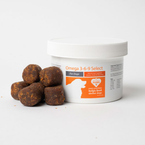 Special Offer! HOLIDAY GIFT SIZE Omega 3-6-9 Select Grain Free Skin & Coat Chews with Krill Oil (30 ct TRIAL Size)