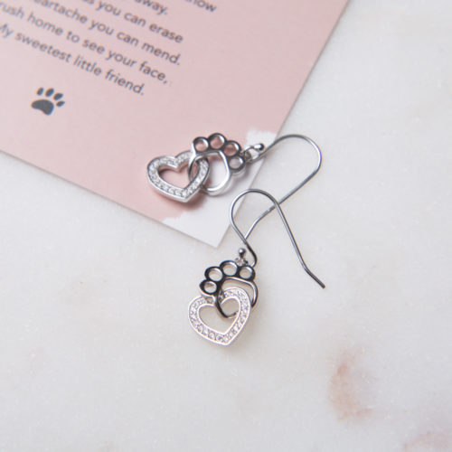 A Christmas Miracle Limited Edition Sweetheart Sterling Silver Earrings
