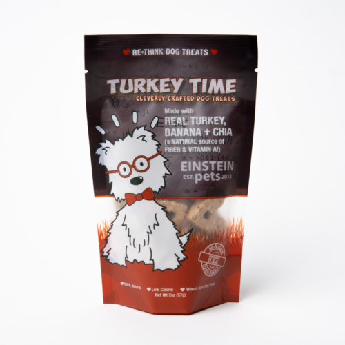 Turkey Time Turkey, Banana, Chia Seed Baked Treats (2 oz)