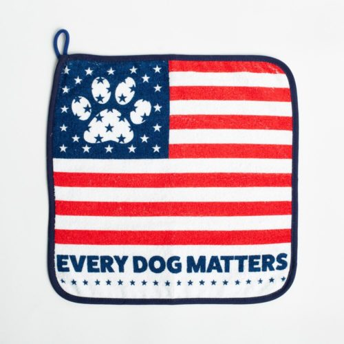 Special Offer! Every Dog Matters Square Towel
