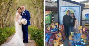 wedding donation