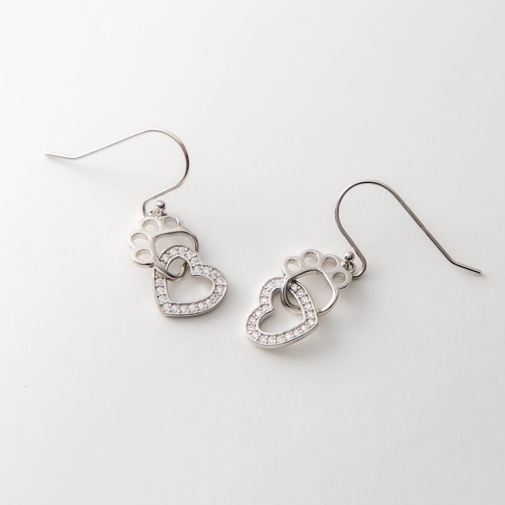 Sweetheart Sterling Silver Earrings