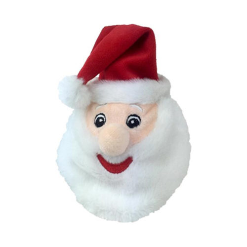 Smiling Santa Plush Ball Toy
