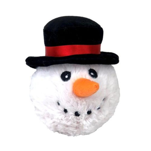 Snow Man Plush Ball Toy