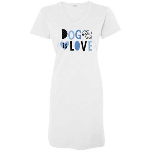 Dog Is Love White Sleepshirt