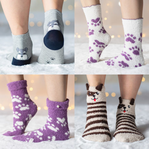 Paws & Pups Socks 4 Pack Set