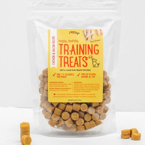 Happy, Healthy™ Soft & Chewy 3 Calorie Chicken & Bacon Training Treats (6 oz)