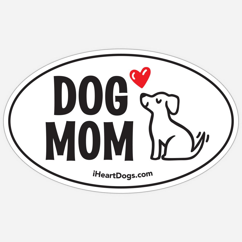 Dog Mom Car Magnet