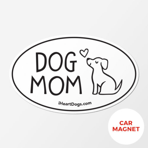Free Dog Mom Car Magnet