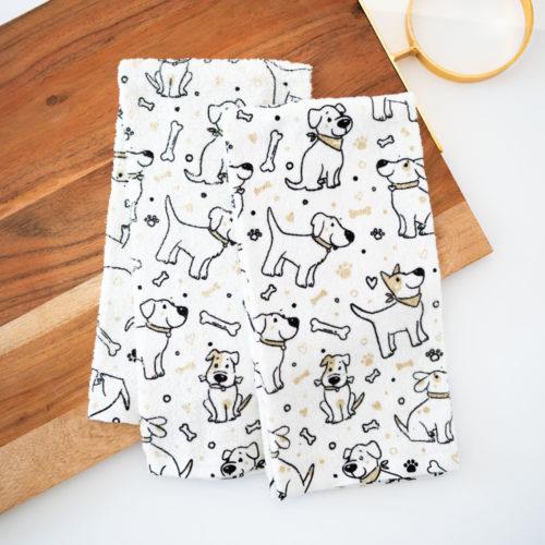 Happy Pups Kitchen Towels (Set of 2)