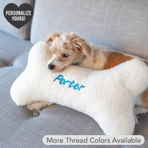 Snuggle Buddy Customizable Bone Pillow