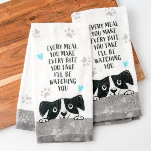 Every Meal You Make Kitchen Towels (Set of 2)