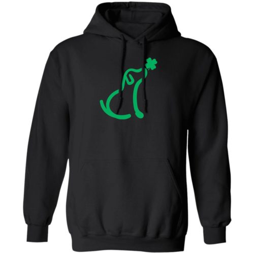 Limited Edition St. Patrick's I Really Love This Dog Black Pullover Hoodie 🐾  Deal Up To 25% Off!