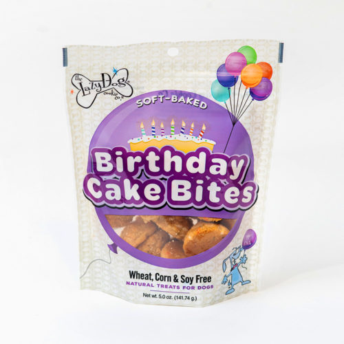 Delicious Birthday Cake Bite Dog Treats