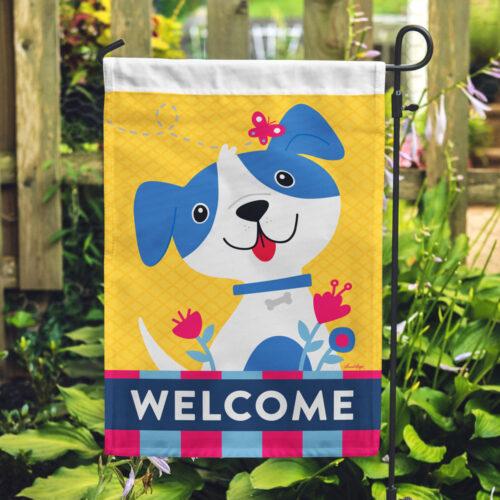 Special Offer! Welcome Dog Garden Flag