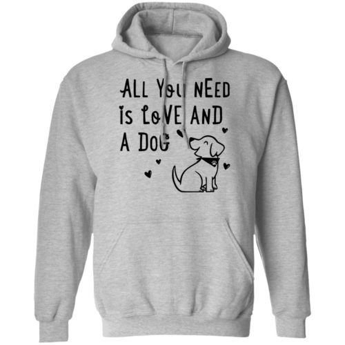 All You Need Is Love Grey Pullover Hoodie