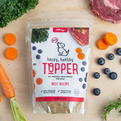 Happy, Healthy™️ Nutrition Boost Beef Food Topper (8 oz Pouch)