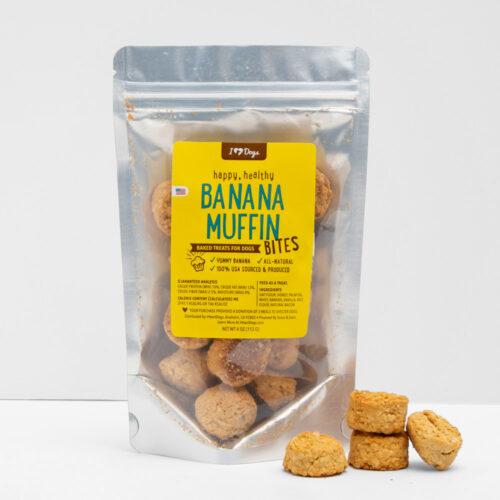 Happy, Healthy™️  Banana Muffin Bites Soft Baked Treats (4 oz)