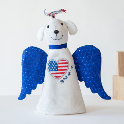 A Shelter Dog's Freedom Artisan Angel 🎄 Deal 34% Off!