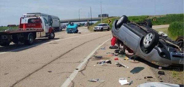 Rollover Car Crash