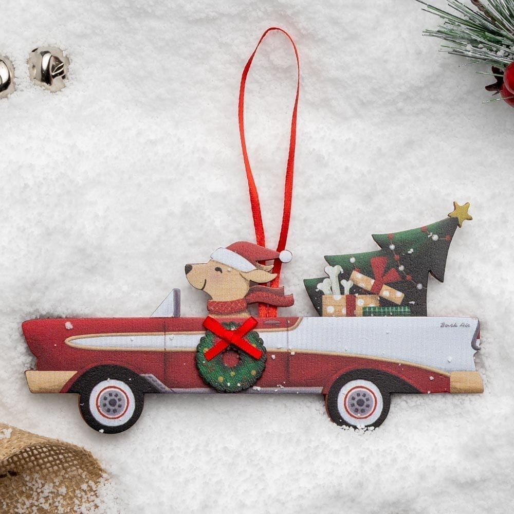 A Christmas Miracle Rescue Ornament 🎄 Classic Bel Air