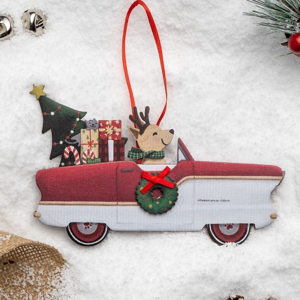 Image of A Christmas Miracle Rescue Ornament 🎄 Metropolitan Convertible