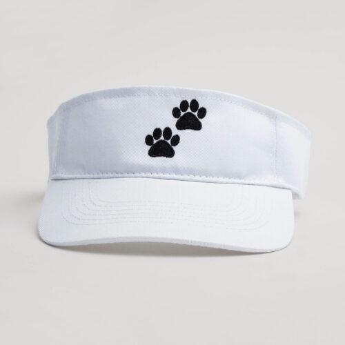 I Love ❤️ This Dog White Visor 🐾  Deal 50% off!