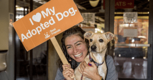 Melissa Villaseñor Rescue Dog