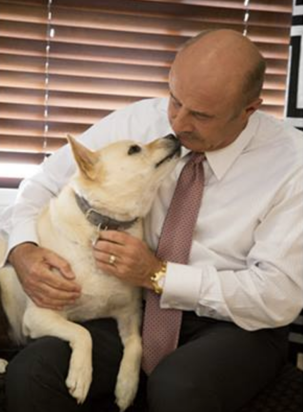 Dr. Phil and Maggie