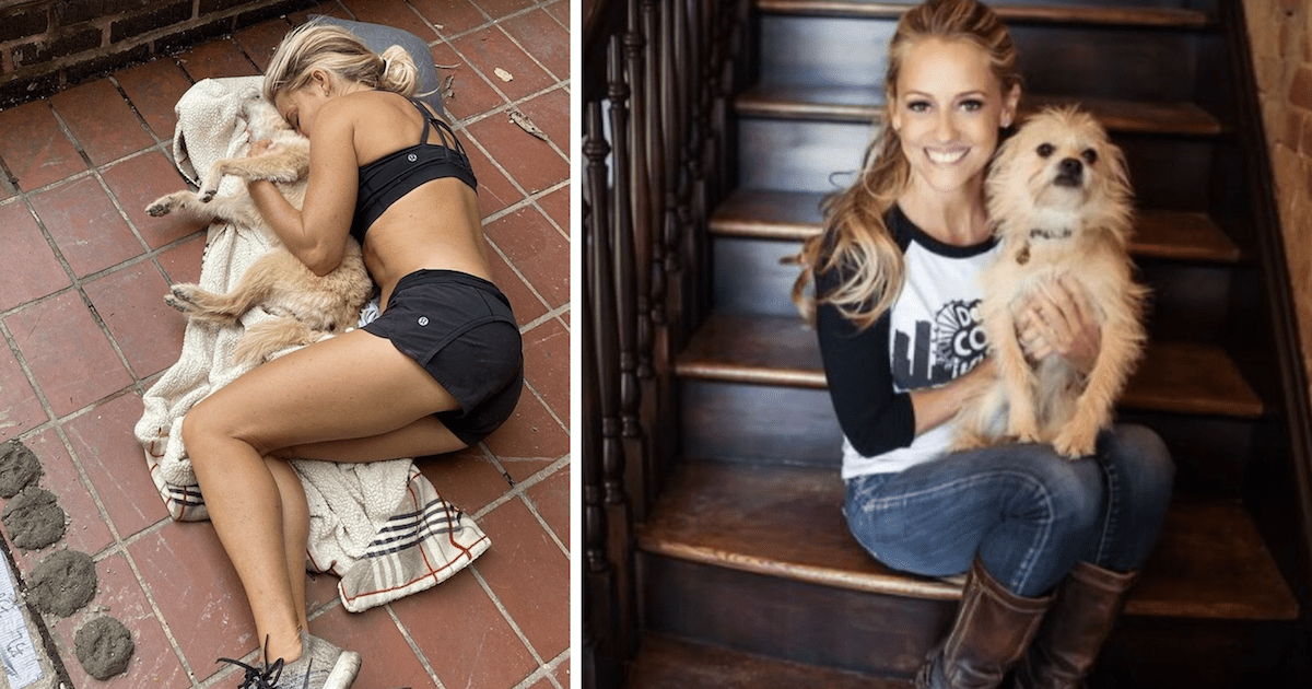 Nicole Curtis and Lucy