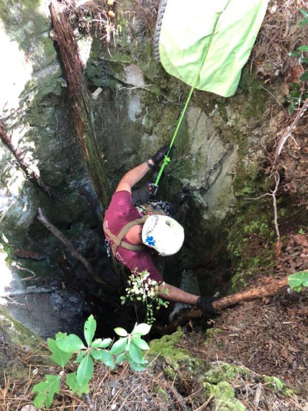 Sinkhole Descent