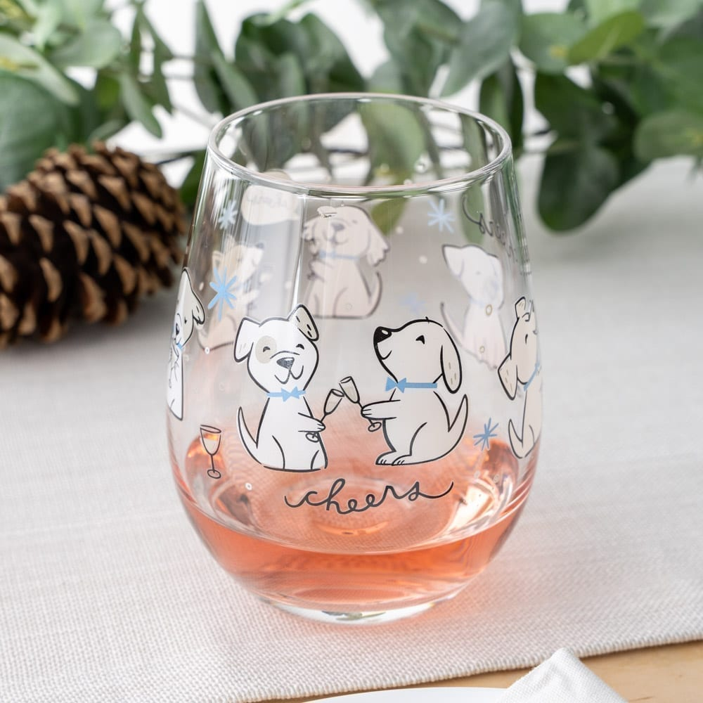 Image of Cheers! Wine Stemless Glass- 20 oz 🎄 Deal 30% Off!