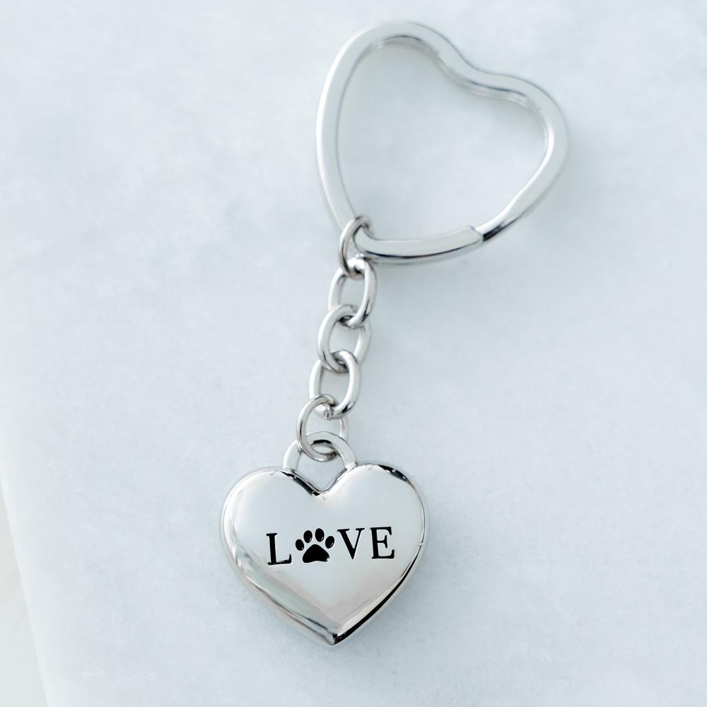 A Dog Mom's Love ♥️ Keychain & Purse Accessory