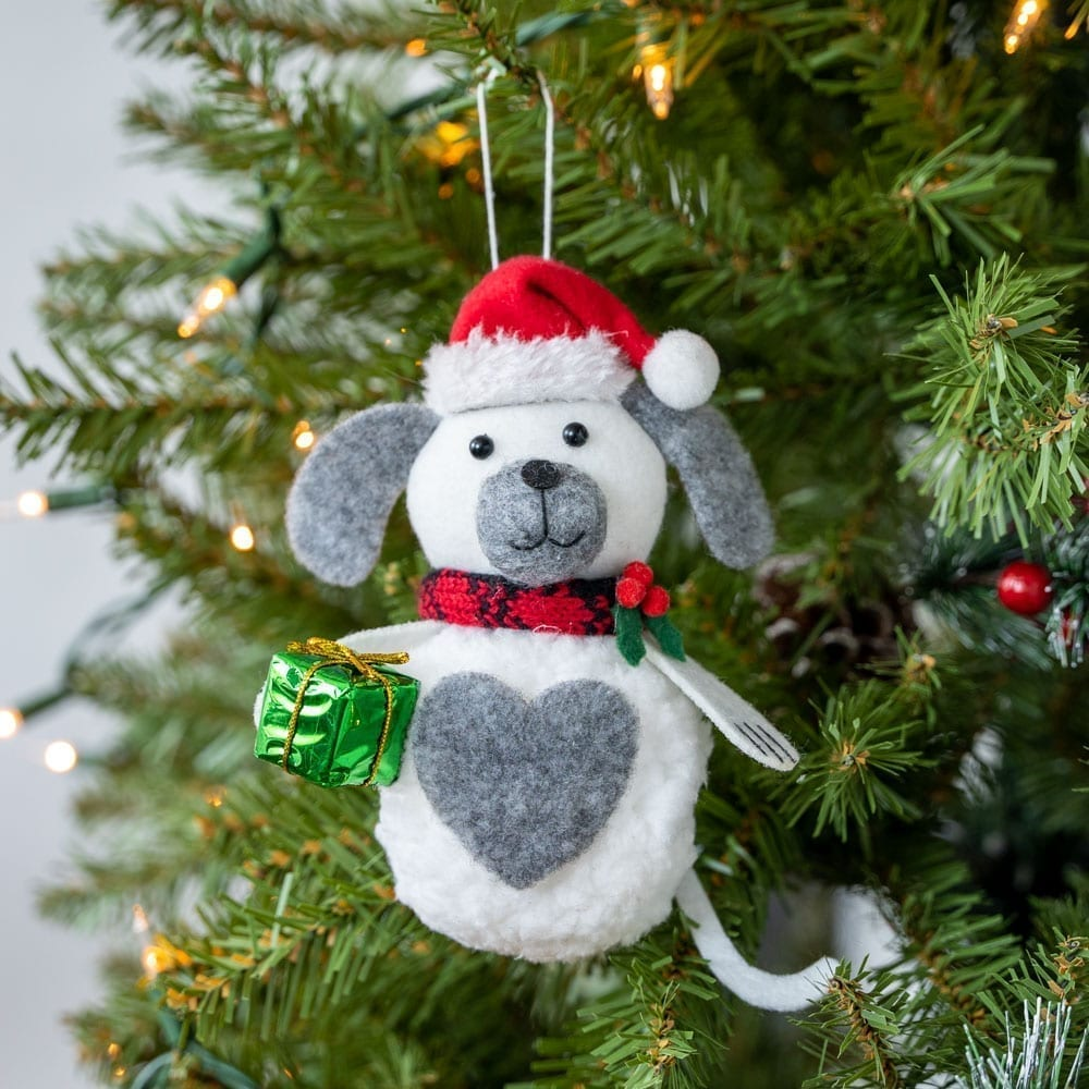 Warm Hearts ❤️ Full Bellies Ornament Collection 🎄 Elfie The Rescue Pup