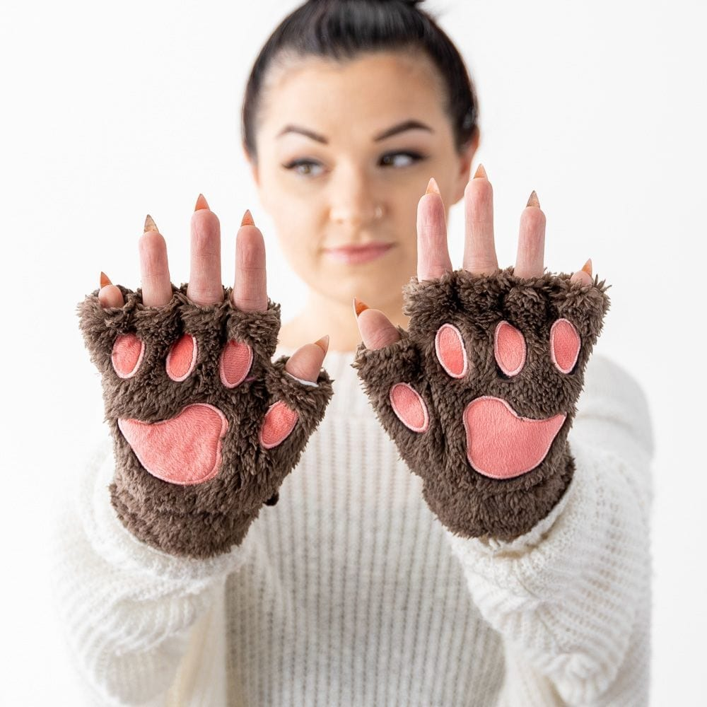 Giving Paws Warm & Fuzzy Gloves- Nightfall
