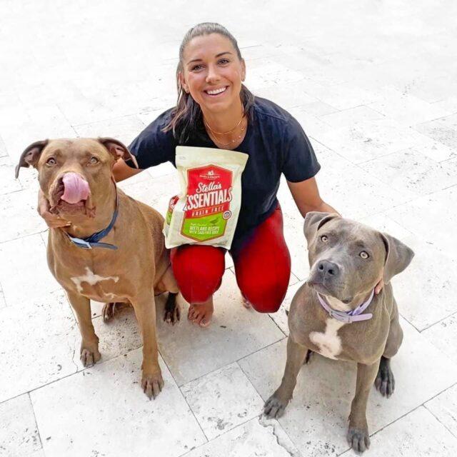 Alex Morgan Dog Food