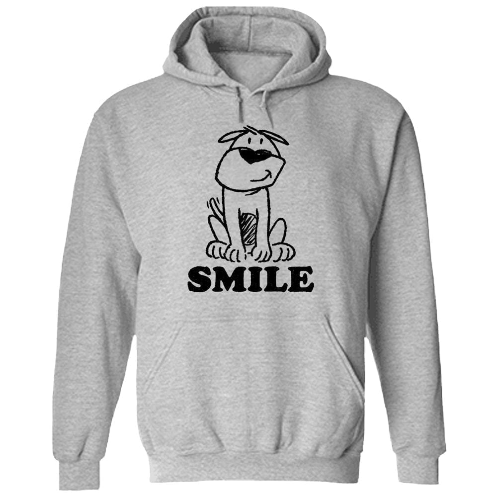 Smile ResQ- Grey Pullover Hoodie 🐾  Deal Up To 25% Off!